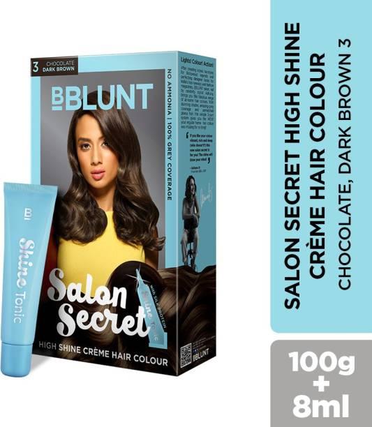 BBlunt Salon Secret High Shine Creme , Chocolate Dark Brown 3