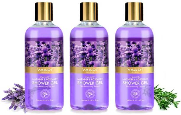 VAADI HERBALS Morning Boost Shower Gel - Lavender And Rosemary Shower Gel