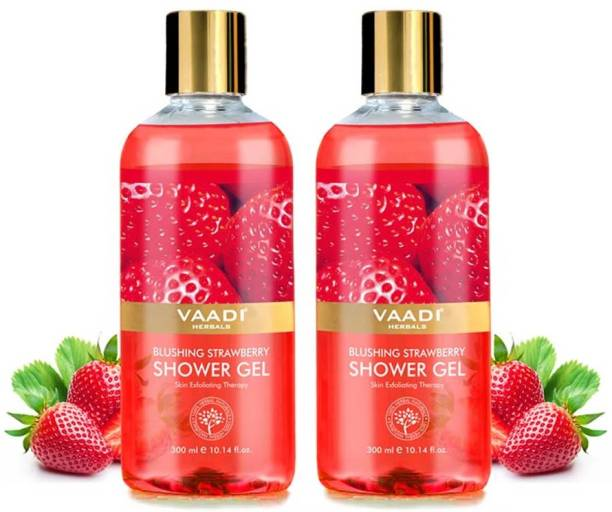 VAADI HERBALS Strawberry Shower Gel