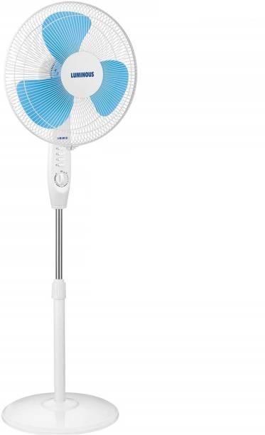 LUMINOUS SpeedPRO 400MM Pedestal Fan with Timer Blue 400 mm 3 Blade Pedestal Fan