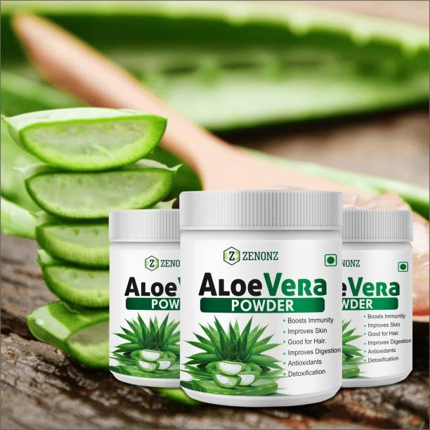 zenonz Aloevera Herbal Powder For Suitable for hair related Problems 100% Ayurvedic