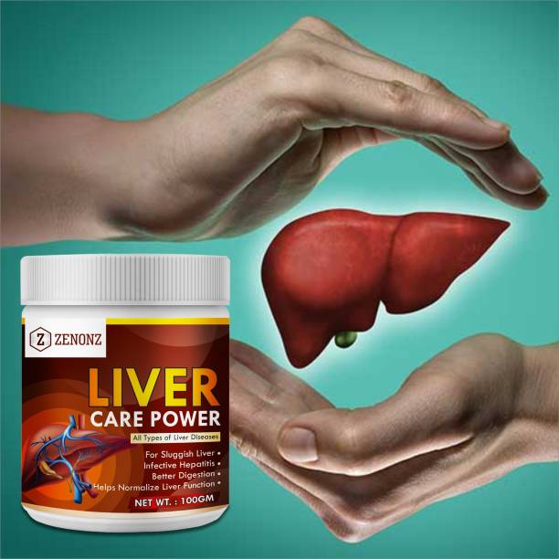 zenonz Liver care herbal powder for Improves liver function 100 Ayurvedic