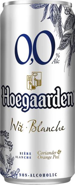 Hoegaarden 0.0 Non alcoholic Wheat beer Can