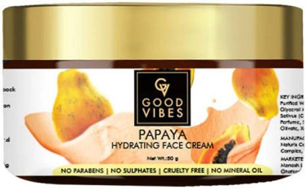 GOOD VIBES Hydrating Face Cream - Papaya