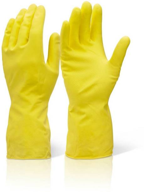 Seebuy Pairs of Reusable Latex Safety Gloves for Washing, Cleaning, Kitchen, Garden and Sanitation Gardening Shoulder Glove