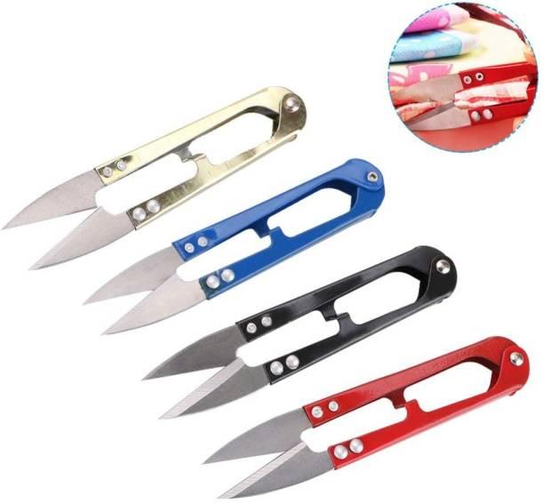 AXYRO Mini Scissors Thread Cutter Metal Grip Scissors