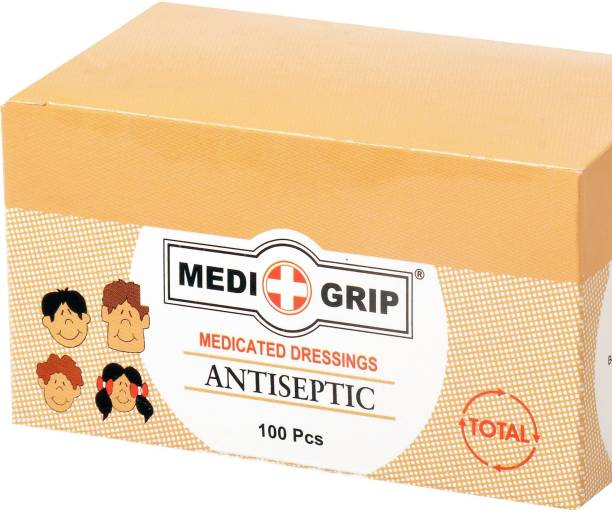 Medigrip Round Spot Band Aid Plaster (Pack of 1000) Adhesive Band Aid