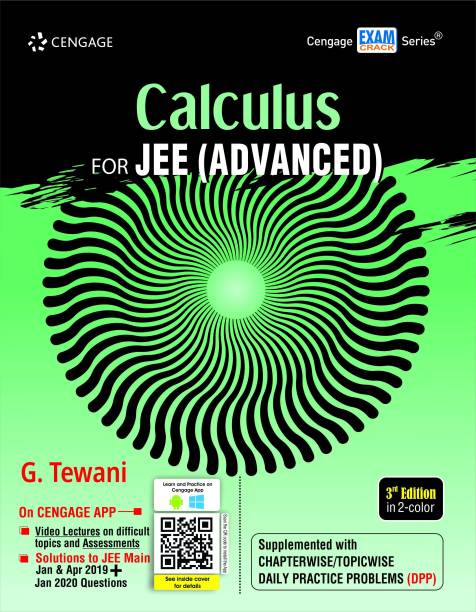 Calculus - For JEE (Advanced) 3 Edition