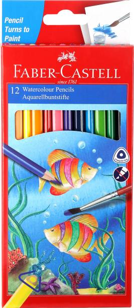 FABER-CASTELL Watercolor Triangular Shaped Color Pencils
