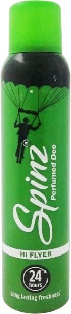 Spinz Hi Flyer Deodorant Spray  -  For Women