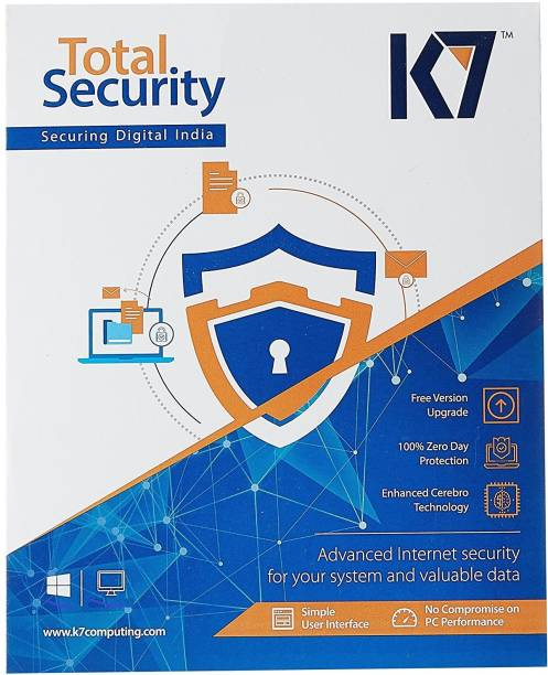K7 2020 5 PC 1 Year Total Security (Email Delivery - No CD)