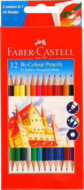 FABER-CASTELL Colour Pencils Hexagonal Shaped Color Pencils