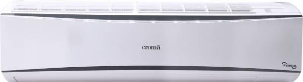 Croma 1 Ton 3 Star Split Inverter AC  - White, Grey