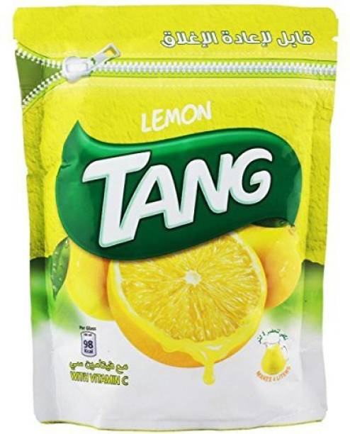 TANG Lemon Drink Powder (Imported) Resealable Pouch Energy Drink