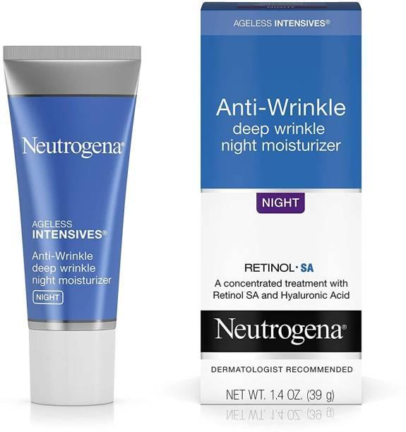 NEUTROGENA Ageless Intensives Anti Wrinkle Cream with Retinol and Hyaluronic Acid