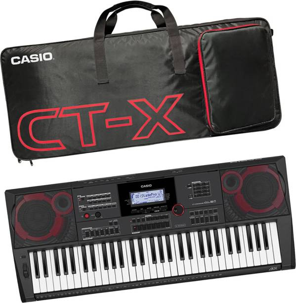 CASIO KH38 + CBC700 Black CT-X9000IN Carry Case Bag Digital Digital Portable Keyboard