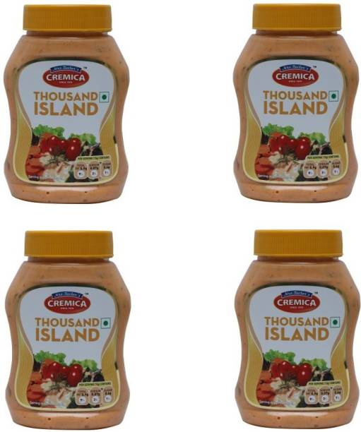 CREMICA Thousand Island Pack of 4 1100 g