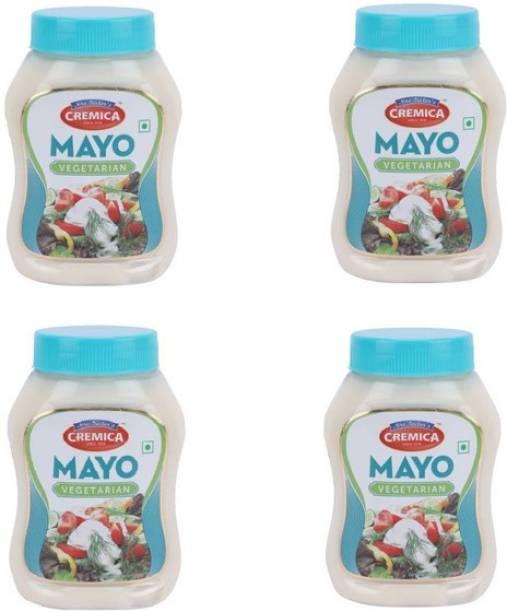 CREMICA Veg mayo pack 4 1100 g