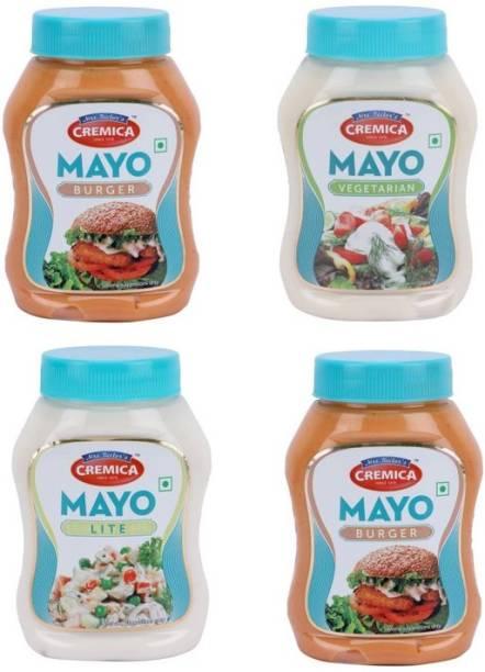 CREMICA Burger mayo2 mayo veg mayo lite pack 4 1100 g