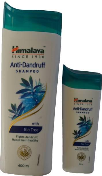 HIMALAYA Anti Dandruff Shampoo 400 ml + Anti Dandruff Shampoo 80 ml (2 pack in 1 set) combo