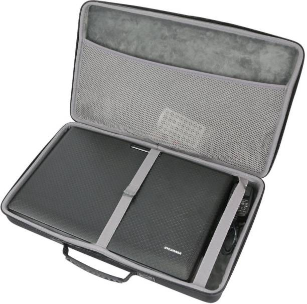 co2crea Hard Travel Case for Sylvania 13.3-Inch Swivel Screen Portable DVD Player by [CAT 13.3 inch DVD Player