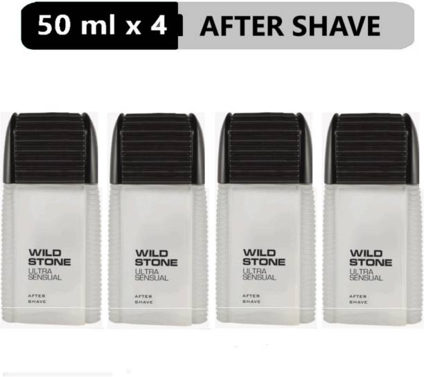 Wild Stone Ultra Sensual Aftershave Lotion (50 ml each)