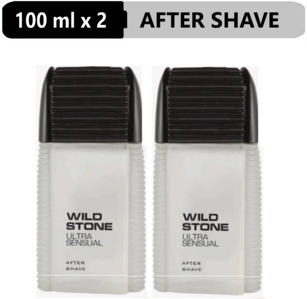 Wild Stone Ultra Sensual After Shave Lotion (100 ml each)