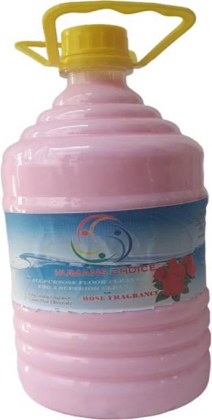 Humans choice Floor Cleaner 5 L Rose Fragrance Rose Rose Fragrance
