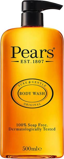 Pears Pure & Gentle Liquid Body Wash | With Glycerine and Natural Oils 500ml