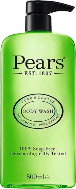 Pears Pure & Gentle Body Wash| Oil Clear with Lemon Flower Extracts 500ml