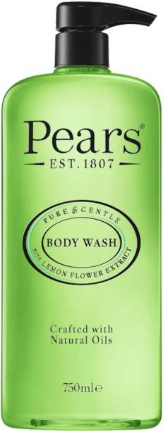 Pears Pure & Gentle Body Wash| Oil Clear with Lemon Flower Extracts 750ml