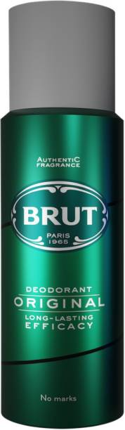 BRUT Original Deodorant for Men | Long Lasting Robust Fragrance 200ml Deodorant Spray  -  For Men
