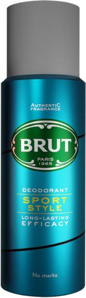 BRUT Sport Style Deodorant for Men | Long Lasting & Athletic Fragrance 200ml Deodorant Spray  -  For Men