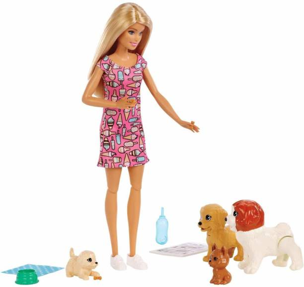 BARBIE Doll & Pets - Doggy Daycare Playset