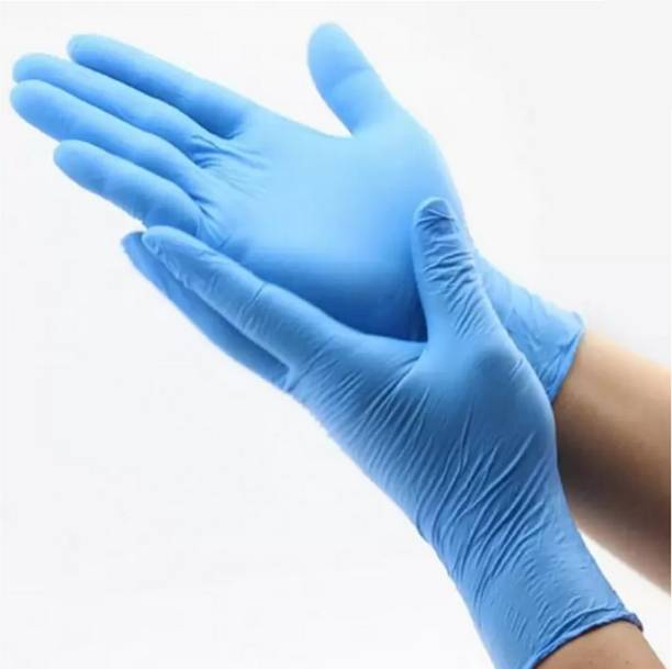Karbon SAFETY GLOVES, DR GLOVES, pack of 30 piece Rubber Safety Gloves Nitrile  Safety Gloves