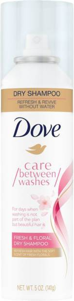 DOVE Fresh & Floral Dry Shampoo Spray with Floral Scent | For Oily Scalp 148ml