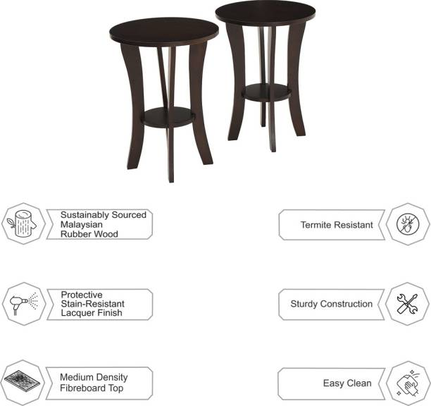 Woodness Bethany Engineered Wood Side Table