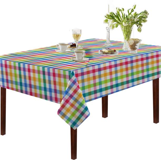 Oasis Checkered 6 Seater Table Cover