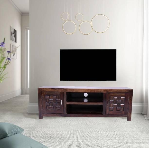 Allie Wood Sheesham Wood Solid Wood TV Entertainment Unit