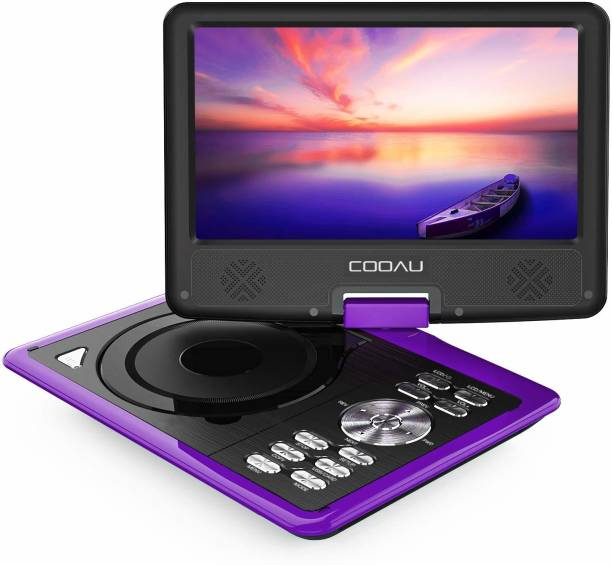 """COOAU 11.5\ Portable DVD Player with 9.5\"""" Swivel Screen [CAT_88612]"""" 9.5 inch DVD Player"""