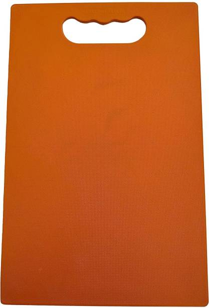 Ciaobella Fruit and Vegetable Chopping Board Plastic Cutting Board (Orange) Plastic Cutting Board