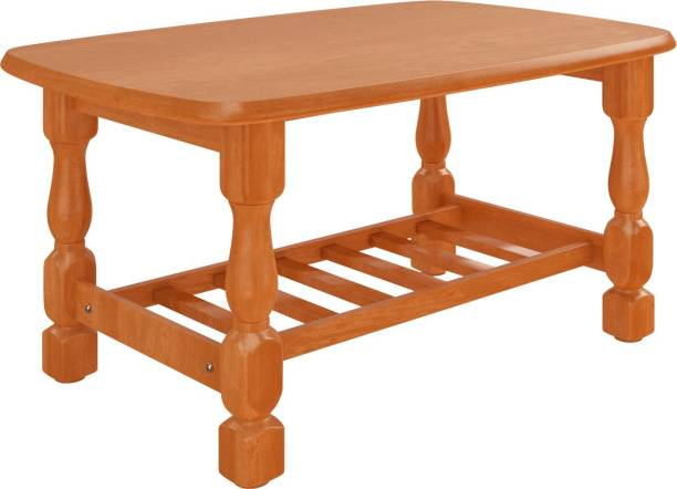 WOODNESS Amber Solid Wood Coffee Table