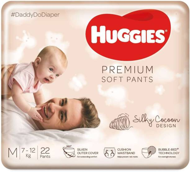 Huggies Premium Soft Pants diapers - M