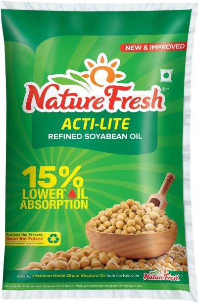 Nature Fresh Acti-lite Refined Soyabean Oil Pouch
