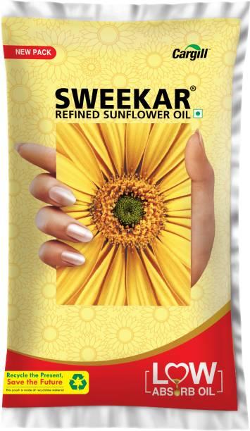 Sweekar Refined Sunflower Oil Pouch