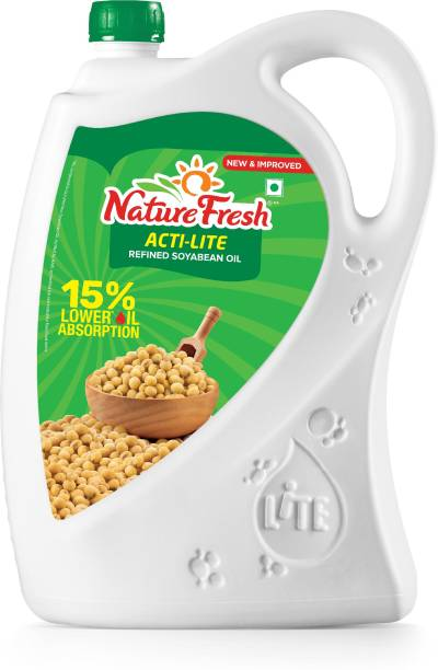 Nature Fresh Acti-Lite Refined Soyabean Oil Can