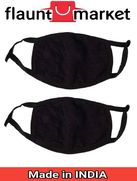 Flaunt Market Anti Pollution White Carbon Activated Cotton Half Face Elevation Training Mask