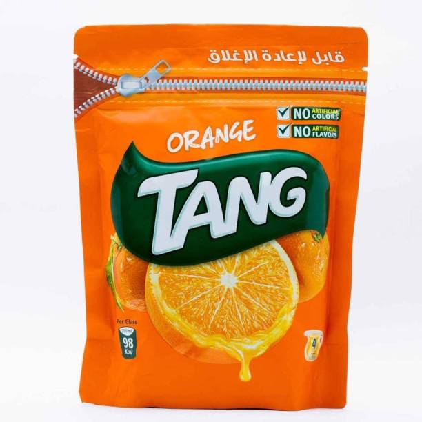 TANG Orange Drink Powder (IMPORTED) Resealable Pouch Energy Drink