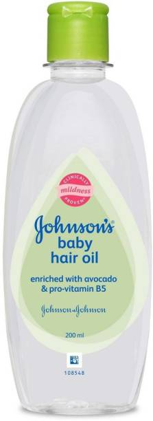 JOHNSON'S Baby Hair Oil (200ml) Hair Oil