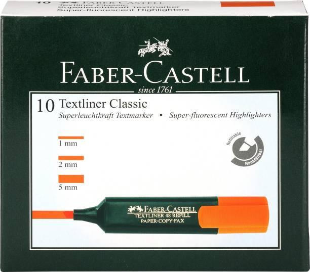 FABER-CASTELL Textliner Classic Orange Pack